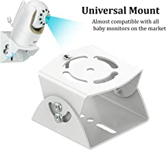 Adjustable Angle Wall Mount for Baby Monitor, Angle Mounting Brackets for Infant Optics DXR-8, Samsung, Motorola, Babysense, HelloBaby and Most Universal Baby Monitors Camera