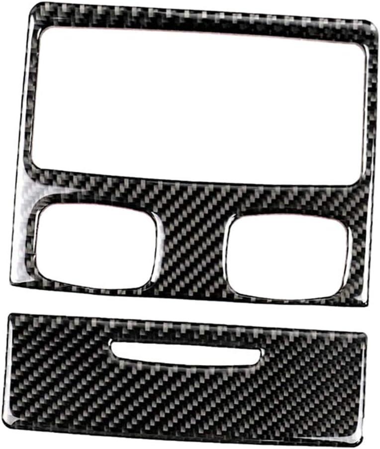 MagiDeal 100% quality warranty Carbon Fiber Car Interior Tri Detroit Mall Air Covers Vent Condition