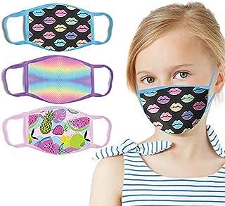 Padaleks Face Masd Anti-Dust Washable Reusable Mouth Cotton Cloth Fashion Colorful Printed Bandanas For Girls Boys
