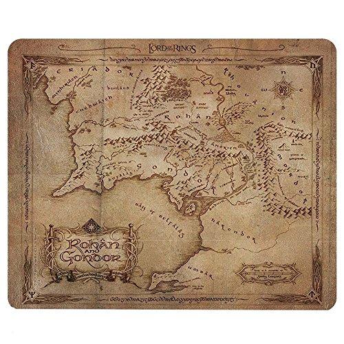 Herr der Ringe - Mittelerde Karte - Mauspad | Offizielles Merchandise