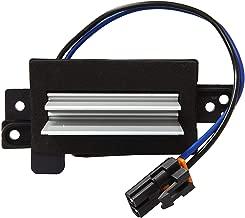 Apeixoto AP008R Upgraded Design Heating and Air Conditioning Blower Motor Resistor Module replaces # 4P1516 MT1805 RU-631 JA1639 BMR34 4P1595 for Chevy Silverado, Tahoe, Suburban, GMC Sierra, Yukon
