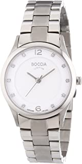 3227-02 Ladies Boccia Titanium Watch with Swarovski Crystals