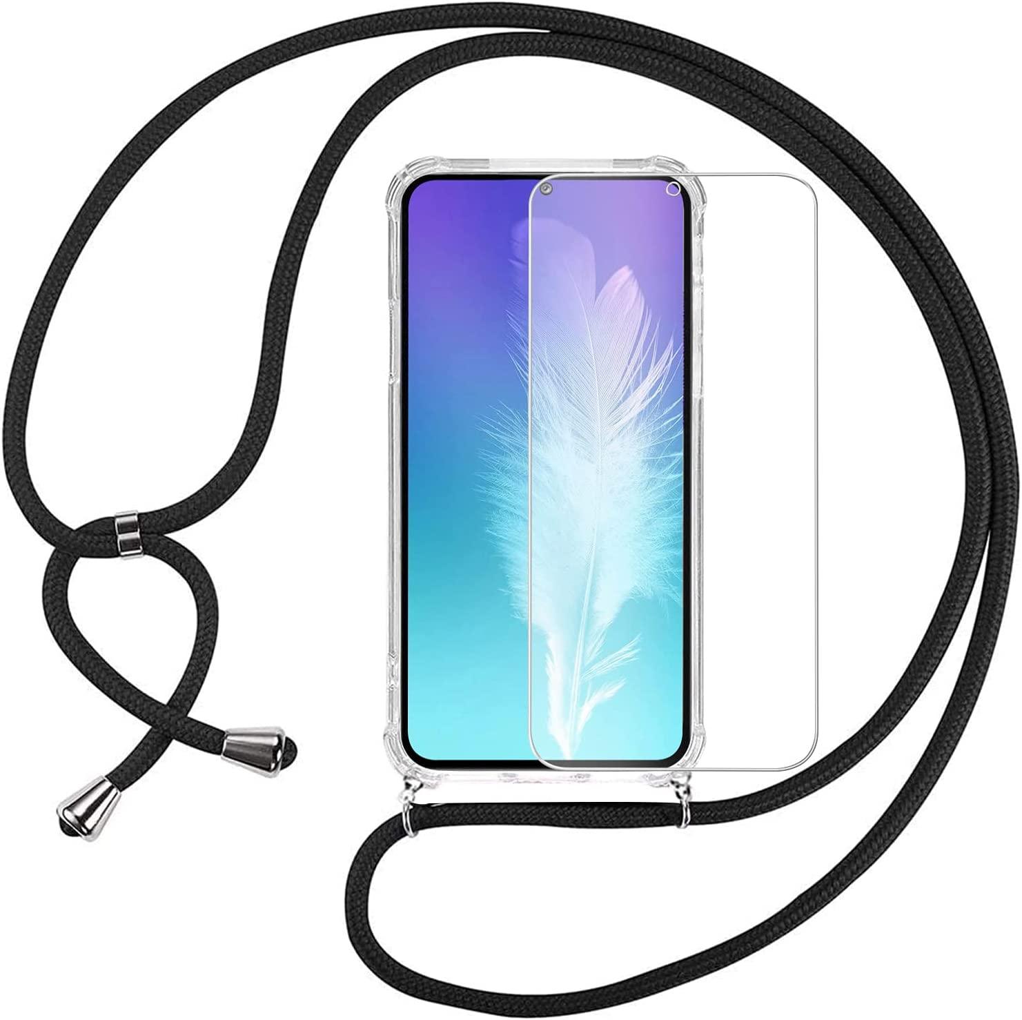 KAPUCTW Crossbody Lanyard Case for iPhone 13 Pro Max 6.7