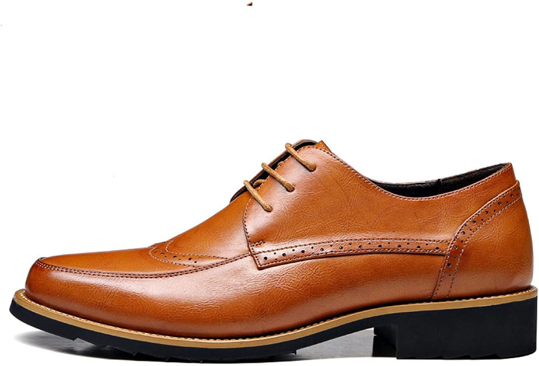 69ac5cb743e3ee GTYMFH Herrenschuhe Herrenschuhe Herrenschuhe Retro Geschnitzt Leder  Anz uuml ge Freizeitschuhe England Atmungsaktive Schuhe 1ada4d