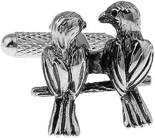 love bird cufflinks