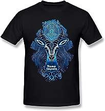 StellaR. Walker Man's Tame Impala Music Band Fashion Hip Pop Short Sleeves Cotton T-Shirt Gift