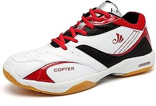 Copter Men's Sneakers Indoor Cross Trainer Shoes Good for(Tennis/Badminton/Racquetball)