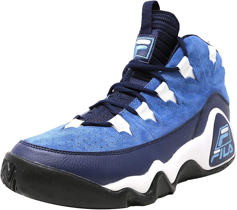 Fila Men's 4 years warranty 95 Purchase Slip Heritage Sky Blue Sneaker Ink White