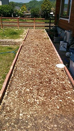 舗装・マルチング用ウッドチップバーク&チップミックスタイプ2袋セット合計100L■舗装厚5cm時およそ2平米分