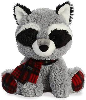 "Aurora - Christmas Items - 8"" Pudder D. Plaid Raccoon"