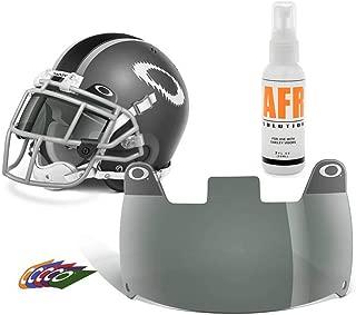 Oakley Football Eye Shield - 45% Grey and Anti-Fog Cleaning Solution …