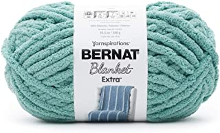 Bernat Blanket Extra Yarn, Big Ball 10.5 Oz, Jumbo 7, Light Teal