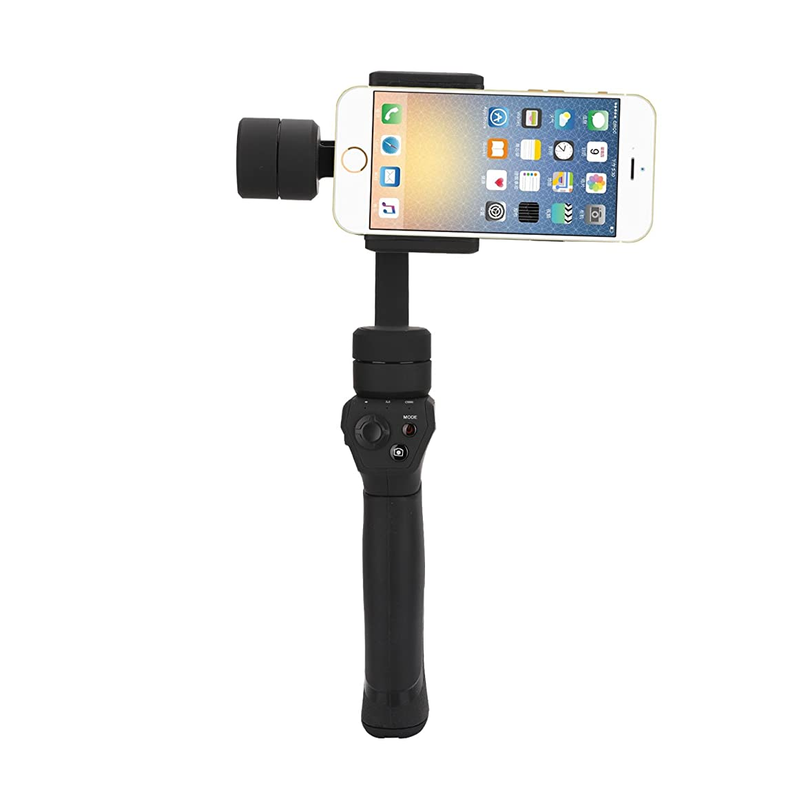 eloam 3-Axis Gimbal Stabilizer Panorama Shooting for Camera Smartphone like Gopro Dslr iPhone X 6S 7S 8 Plus Samsung Galaxy S8+ S7 S6 S5 Handheld Motorized