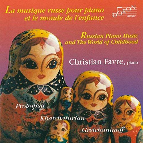 bon comparatif Musique de piano russe et monde de l'enfance un avis de 2021
