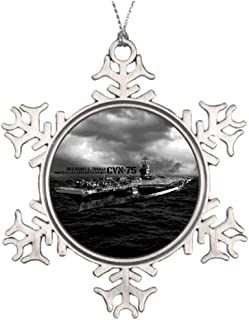 Darlingz Personalised Christmas Tree Decoration Ship CVN-75 Harry S. Truman Large Christmas Decorations
