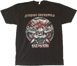 Avenged Sevenfold Battle Armor Hail to The King Black T Shirt A7X