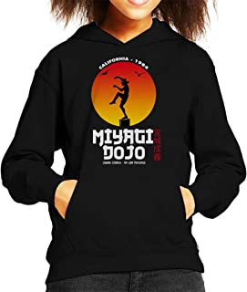 Cloud City 7 Miyagi Dojo California 1984 Karate Kid Kid's Hooded Sweatshirt