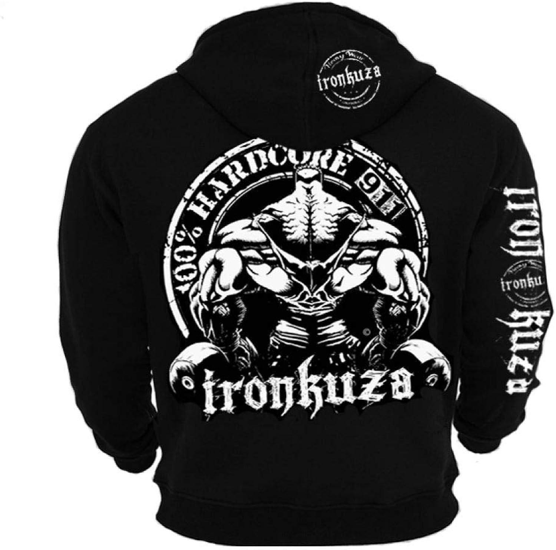 Ironbody Ironkuza Kapuzenjacke '100% Hardcore' (Made in Germany )