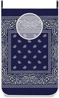 Générique Panier à Linge à Suspendre avec Crochets de Porte et ventouses Solides Bleu Marine