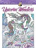 Creative Haven Unicorn Wonders Coloring Book (Creative Haven Coloring Books)
