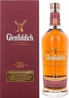 Glenfiddich 25 Jahre Rare Oak mit Geschenkverpackung Whisky 1 x 0.7 l