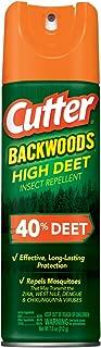 Cutter HG-96647 Backwoods High DEET Insect Repellent, 7.5 oz