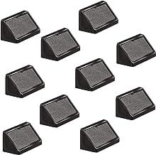Gedotec Universele hoekverbinders zwart corpusverbinder van kunststof | meubelverbinders kunststof met afdekkap | meubelbe...