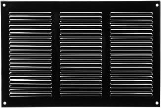Mirrwin Diameter Round Ventilation Grille Cabinet Air Vent Hole Round Shaped Mesh Hole Ventilation Round Ventilation Grille 35mm 10 Pieces Black for Bathroom Cabinet Wardrobe Shoe Cabinet