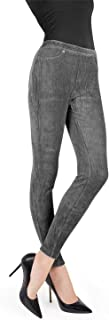 Wide-Rib Stretch Corduroy Leggings   Women's Premium Leggings