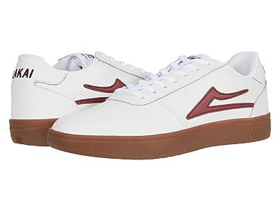 Lakai Manchester XLK (White/Gum Leather) Men