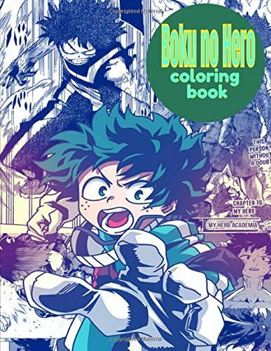 My Hero Academia Boku No Hero Coloring Book My Hero Academia Boku No Hero Academia All