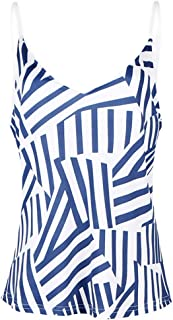 NMY Camiseta de Mujer, Blusa Sexy de Verano sin Mangas de impresión Suelta Casual Fashion Tank Tops