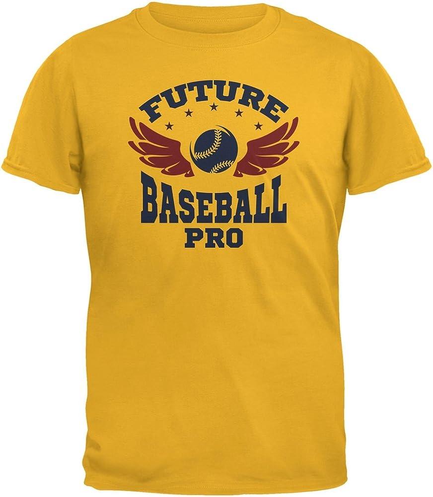 Future Baseball Pro Gold Youth T-Shirt