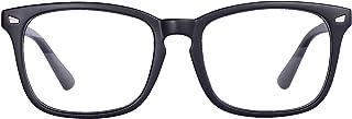 HSS Anti Blue Light Eyestrain Blocking Glasses and UV Glare reduction Computer/Reading/Gaming/TV/Phones Glasses for Men an...