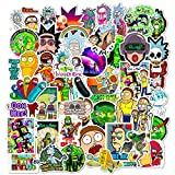 Rick and Morty Stickers for Hydro Flask, | 50 PCS | Vinyl Waterproof Stickers for Laptop,Skateboard,Water Bottles,Computer,Phone, Cute Anime Stickers (Rick and Morty) guitar for kids Nov, 2020