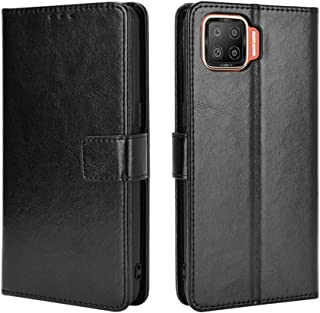 Wallet Case for Oppo F17 Pro/Oppo A93 Case, Retro Style Wallet Magnetic Cover with Credit Card Slots and Flip Stand, Leath...