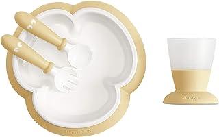 BABYBJÖRN Baby Feeding Set, Powder Yellow