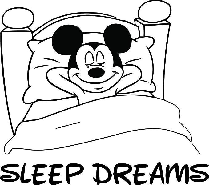 Wall Tattoo Sticker Children Motifs Disney Mini Mouse Sweet Dreams