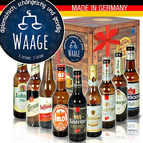 Sternzeichen Waage - DDR Bierbox - Geschenkidee Oktober