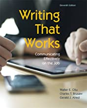 Writing That Works: Communicating Effectively on the Job, 11th Edition