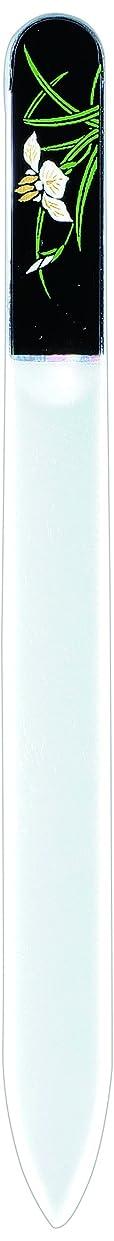 微生物蜂幽霊橋本漆芸 ブラジェク製高級爪ヤスリ 五月 菖蒲 OPP