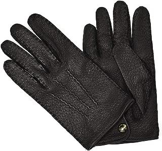 [DENTS【デンツ】]手袋/グローブ 15-1043 Black Peccary&No lining(ブラック ペッカリー)
