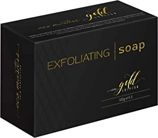 Eco Masters Jabón Exfoliante – Purifica y Limpia Profundamente la Piel – Contiene Polvo de Almendra Dulce – Sin Parabenos ...