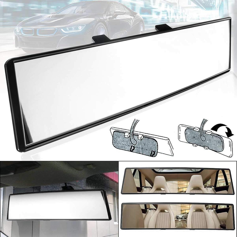 Gift4Car  12  300mm Universal Car Auto Interior Rearview Mirror AntiGlare Flat Clip Backup Car Wide Angle Vision Interior Mirrors Convex