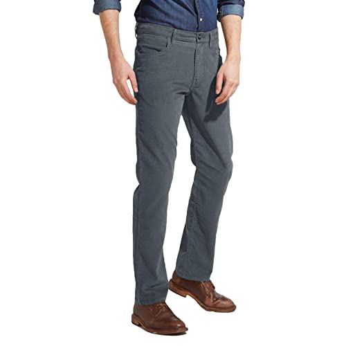 98b4b9cc Wrangler Men's Arizona Stretch Corduroy Jeans Turbulence