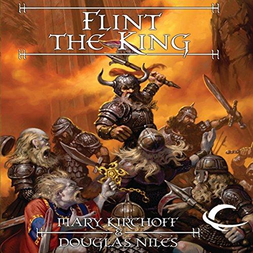 Flint the King audiobook cover art