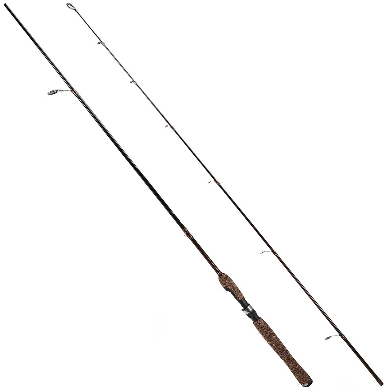 Plusinno viajes de agua dulce Pesca Rod poste Spinning Cañas de pescar barras 7 0