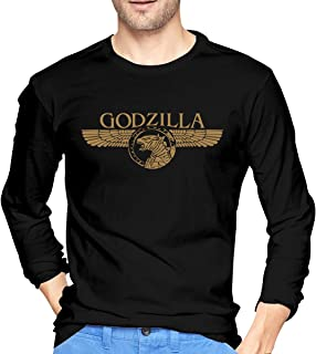 VernonG Godzilla King of The Monsters Men's Long Sleeve T-Shirts Black