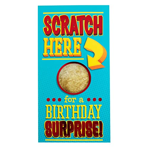 Hallmark Birthday Card Scratch Here Surprise