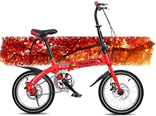 ZTBXQ Regalo Deportivo ldeas Freestyle Bicicletas para niños Bicicleta de montaña para niños de 16 Pulgadas Bicicleta de u...